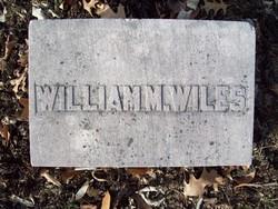 Col William M. Wiles