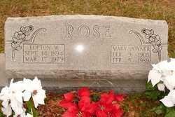 Mary Lois <i>Joyner</i> Rose