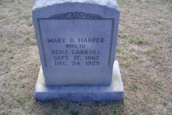 Mary B. <i>Harper</i> Carroll