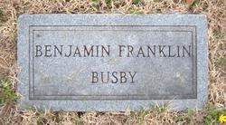 Benjamin Franklin Busby