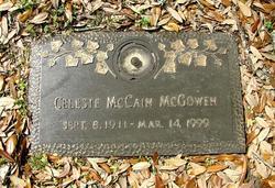Celeste <i>McCain</i> McGowen