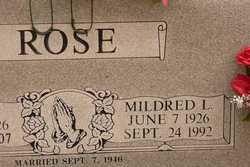 Mildred <i>Stimpson</i> Rose