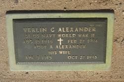 Verlin Chester Alexander