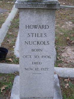 Howard Stiles Nuckols