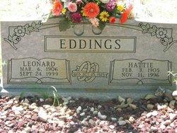Hattie Lee <i>Ainsworth</i> Eddings