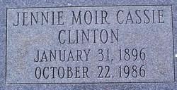 Jennie Moir Cassie Clinton