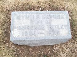 Myrtle Hulda <i>Haynes</i> Yetley