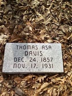 Thomas Asa Davis