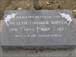 Paulette Lorraine Barker