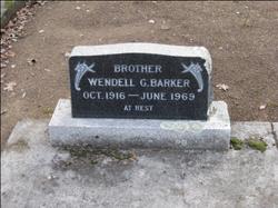 Wendell G Barker