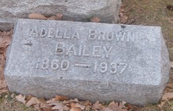 Adella <i>Brown</i> Bailey