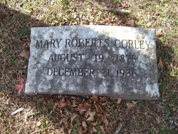 Mary <i>Roberts</i> Corley