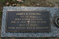 Sgt James A. Strong, Jr