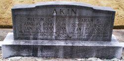 Milton C Akin