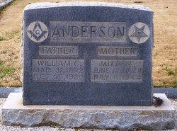 Mittie E Anderson