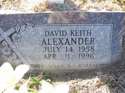 David Keith Alexander