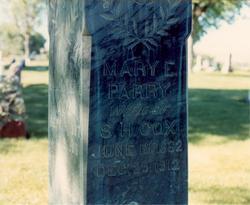 Mary Ellen <i>Parry</i> Cox