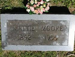 Mattie E. <i>Benderman</i> Moore