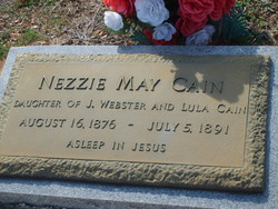 Nezzie May Cain