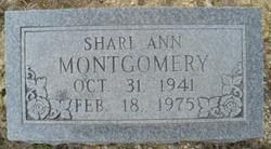Shari Ann <i>Collins</i> Montgomery