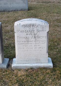 Margaret <i>Smith</i> Andrews