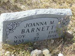 Joanna M Barnett
