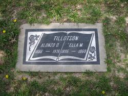 Rev Alonzo Otis Tillotson