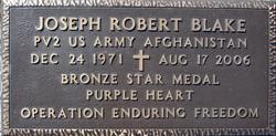Pvt Joseph Robert Blake