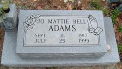 Jo Mattie Bell <i>Stites</i> Adams