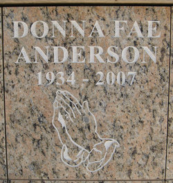 Donna Fae <i>Harney</i> Anderson