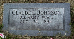 Claude L Johnson