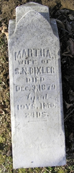Martha <i>Stoops</i> Bixler
