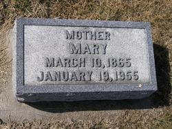 Mary <i>Wunder</i> Bender