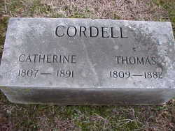 Catherine <i>Waters</i> Cordell