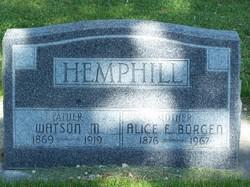 Alice Elizabeth <i>O'Hara</i> Hemphill