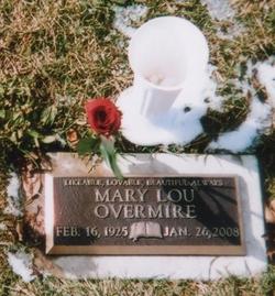 Mary Louise <i>Fast</i> Overmire