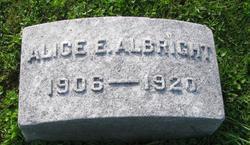 Alice E Albright