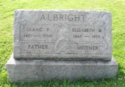 Elizabeth M <i>Patton</i> Albright
