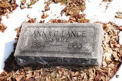 Anna C <i>Lance</i> Fritts