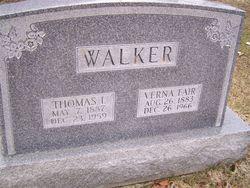 Verna Rebecca Vinnie <i>Fair</i> Walker