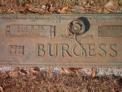 Benjamin Bartow Burgess, Sr