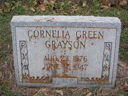 Cornelia Anna T <i>Green</i> Grayson