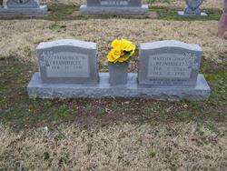 Martha Ann <i>Moore</i> Reinholtz
