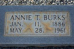 Annie Elizabeth <i>Turner</i> Burks