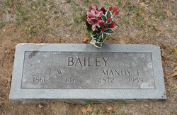 Amanda Florence Mandy <i>Daniels</i> Bailey