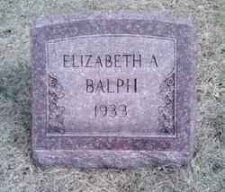 Elizabeth <i>Armstrong</i> Balph