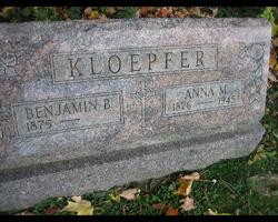 Anna M. <i>Meade</i> Kloepfer