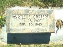 Myrtle Eunice <i>Stegner</i> Carter