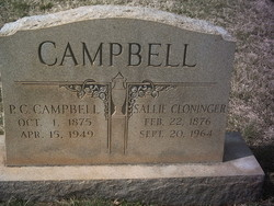 Sallie <i>Cloninger</i> Campbell