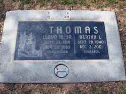 Lloyd Wilson Gravedigger Thomas, Sr